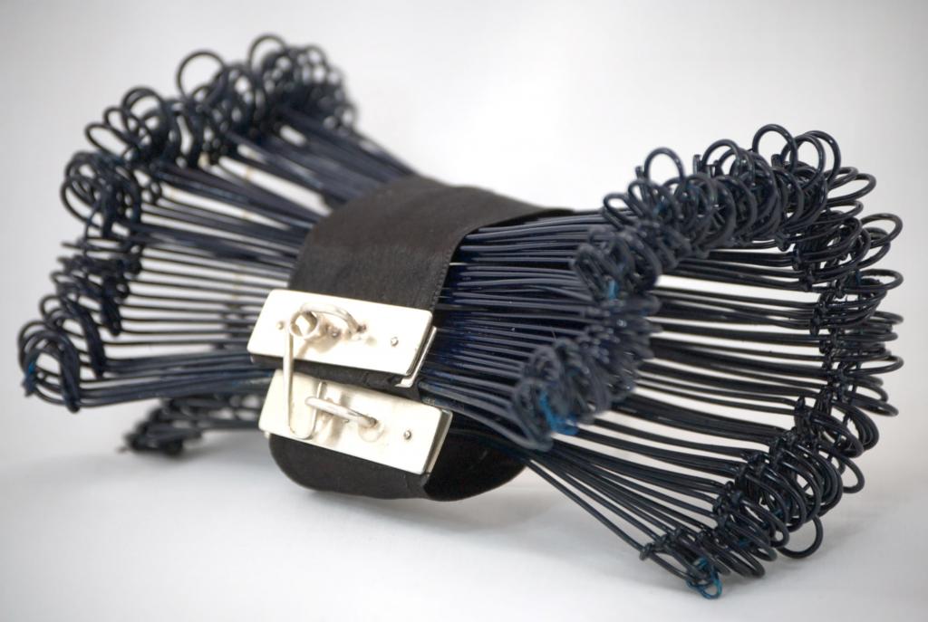Navajo silversmithed bracelet