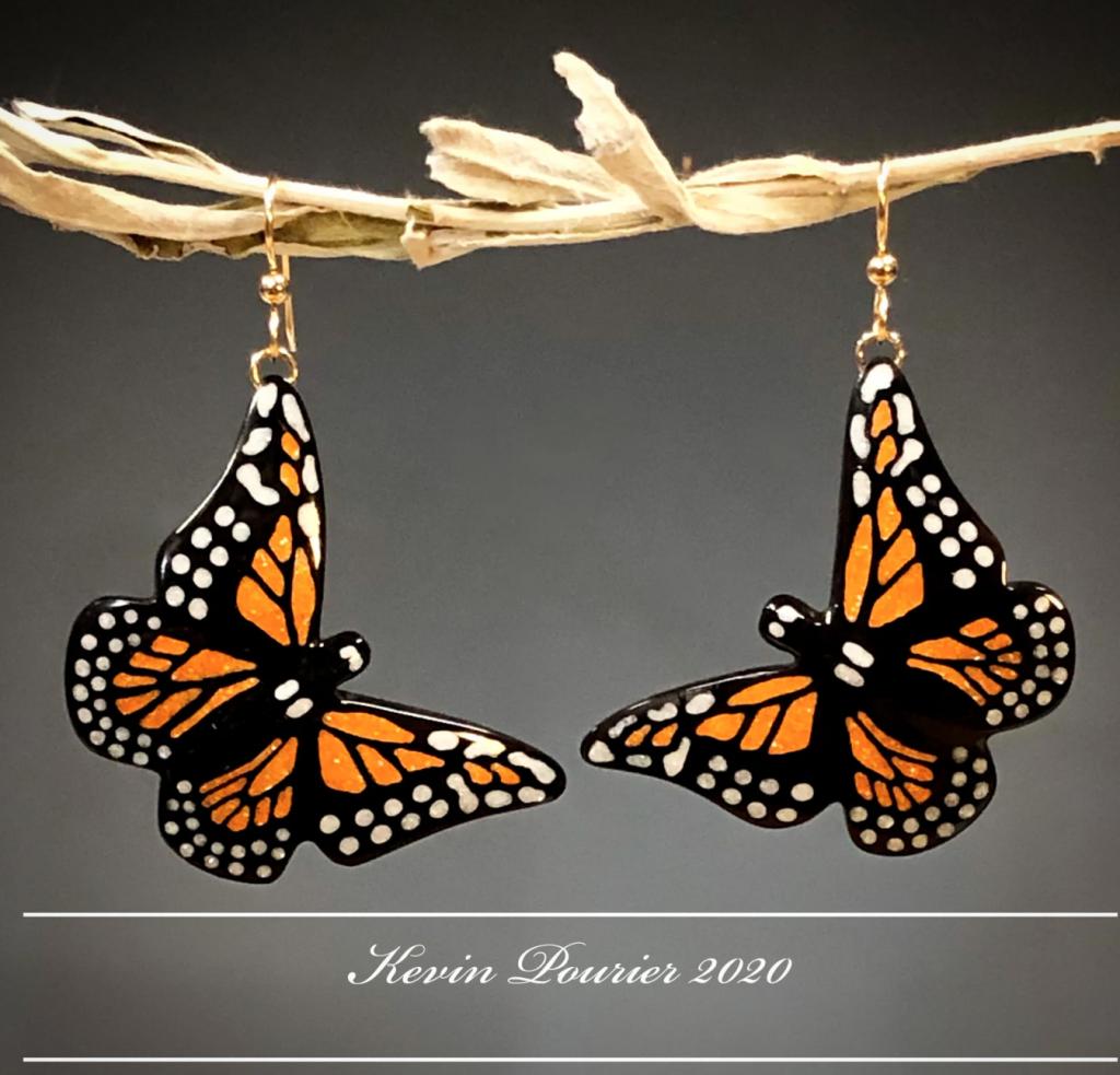 monarch earrings