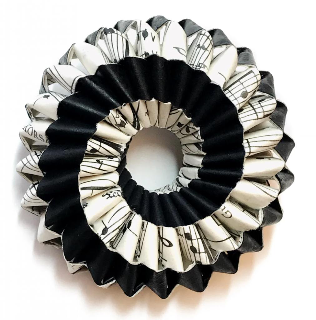paper jewelry item